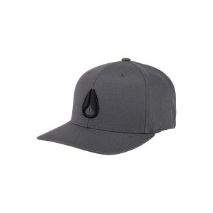 Deep Down FF Athletic Fit Hat Charcoal Black