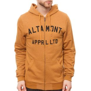 Qualifier Zip Fleece Copper
