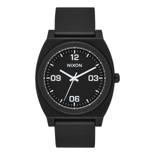 Time Teller P Corp Matte Black White