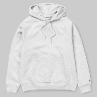 W Hooded Chase Sweat Ash Heather