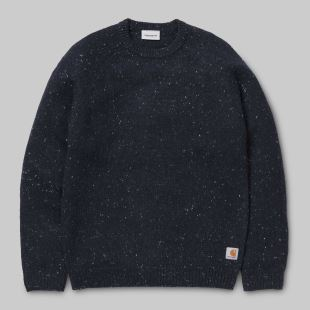 Anglistic Sweater Dark Navy Heather