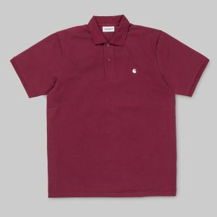 SS Madison Polo Mulberry White