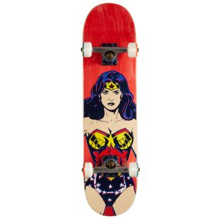Complete Mid Wonder Woman Red 7.375