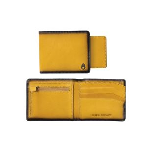 Satellite Big Bill Bi Fold ID Coin Wallet Wheat