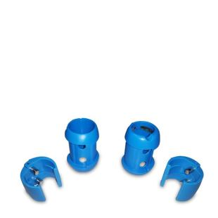 Trim lock / Taquet de wish - XC - Blue - (paire) - 27 mm