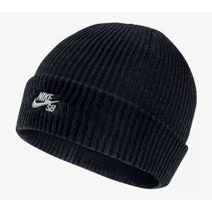 Beanie Fisherman Black