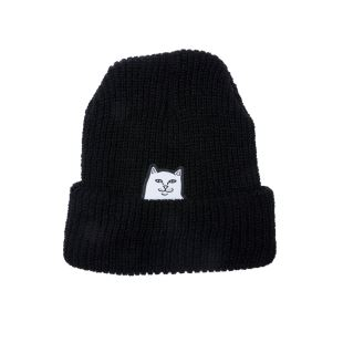 Lord Nermal Rib Beanie Black